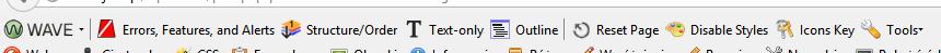 Pasek opcji Wave Toolbar