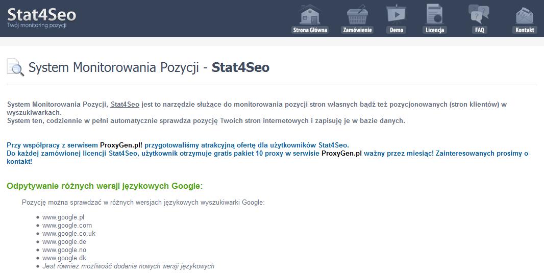 Stat4SEO