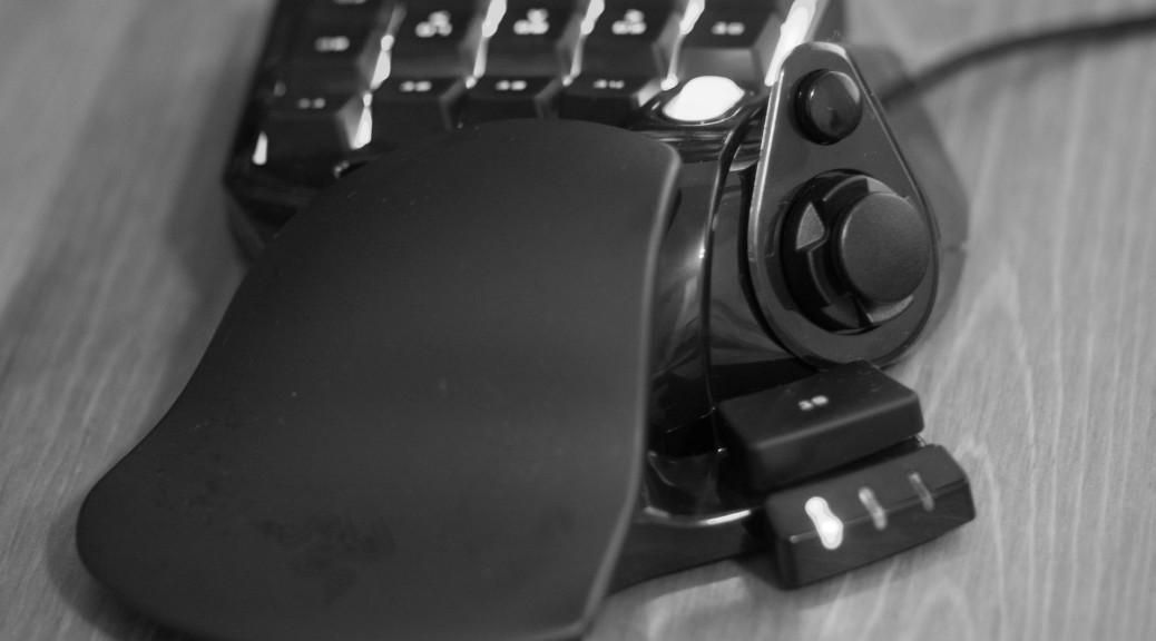 Keypad dla gracza zamiast zwykłej klawiatury